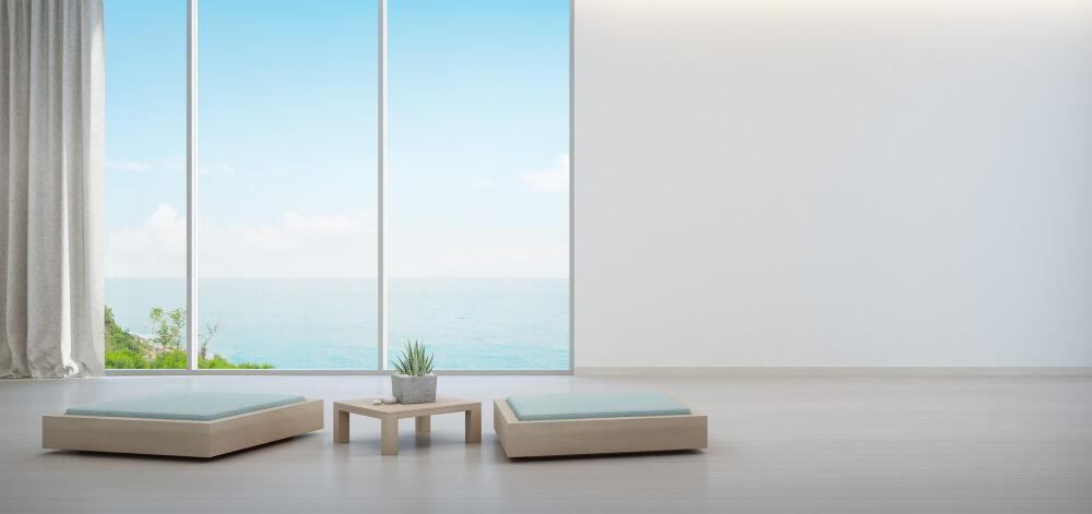 דירה עם נוף לים