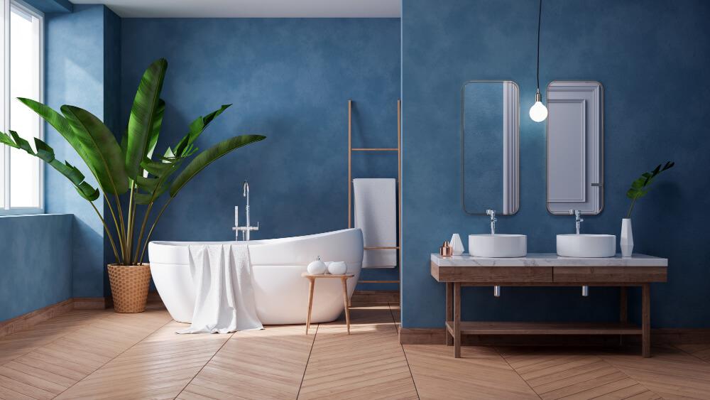 עיצוב חדר האמבטיה